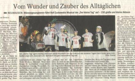Kleiner Tag Presseecho / Esslinger Zeitung