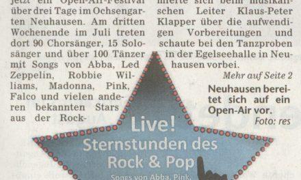 Presseecho Filder-Wochenspiegel vom 22.4.2010