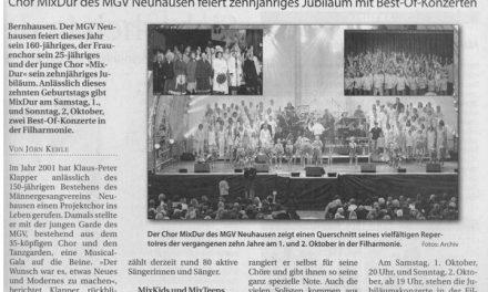 Bühne frei in der Filharmonie