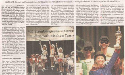 EZ: Tänzerinnen triumphieren in allen Altersklassen