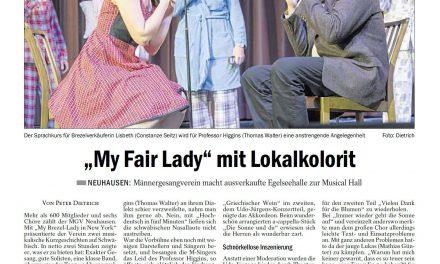 """My fair Lady"" mit Lokalkolorit"