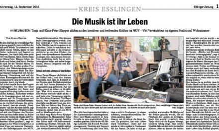 EZ: Die Musik ist ihr Leben