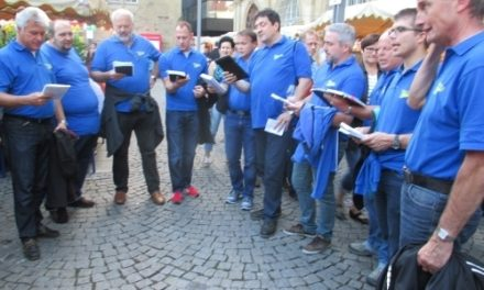 Besuch des Stuttgarter Weindorfs