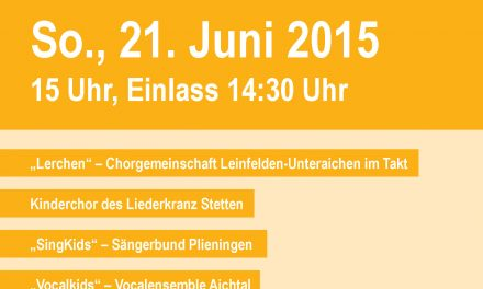 """Chortage """"Sommerliches"""" in Neuhausen"""