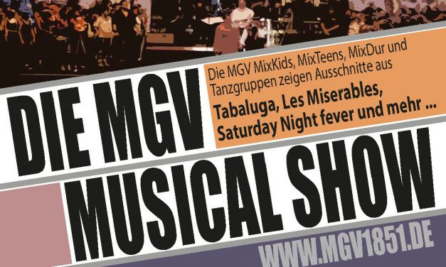 Musical Show 2015 ausverkauft! ZUSATZKONZERT!
