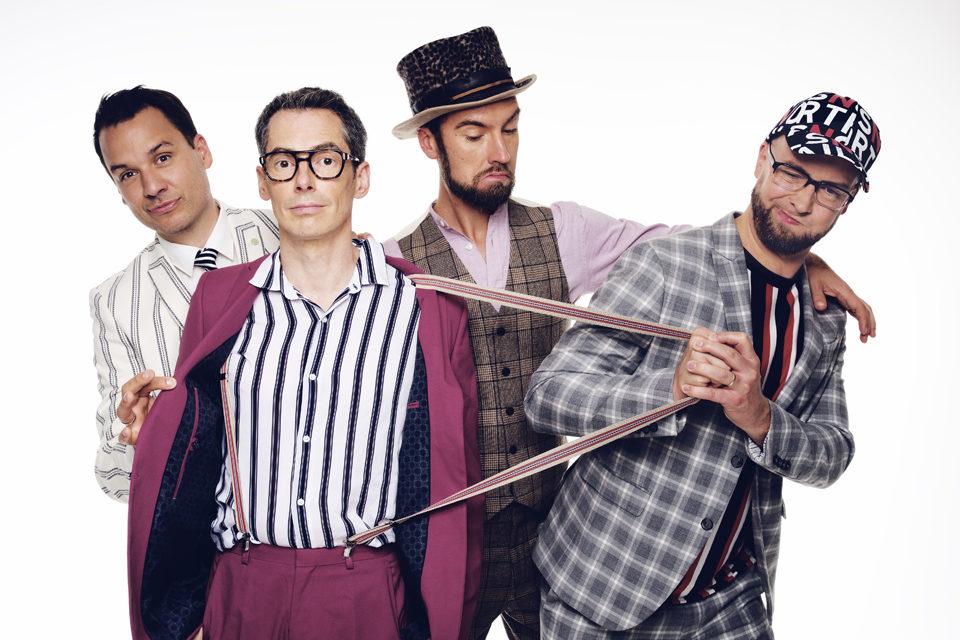 MAYBEBOP – Die 4 Vokal-Klang-Künstler zu Gast am 25.4. beim MGV!