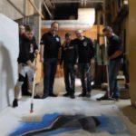 MGV-Technik-Crew beim Kulissenbau