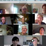 1. Online-Meeting des Männer- und Frauenchors