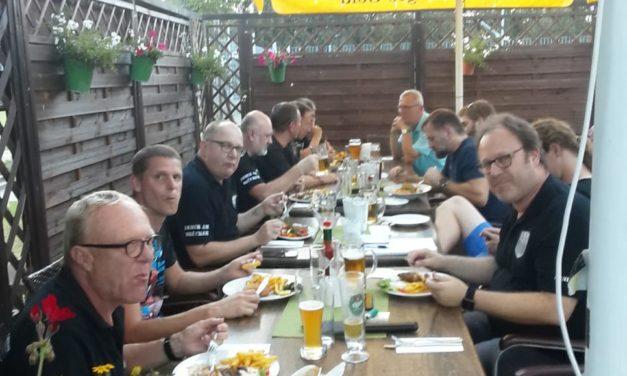 Großes Wiedersehen der  Technik-Crew