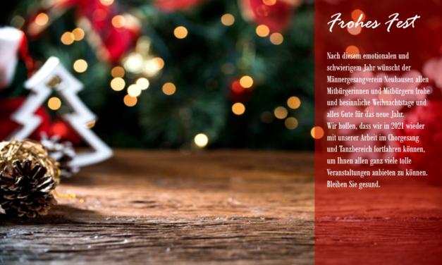 Weihnachtsgrüße vom MGV