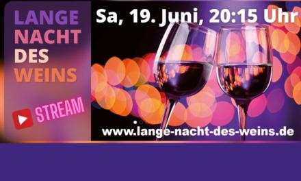 Feuchtes Eck: Lange Nacht des Weins – Online